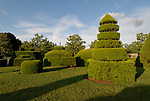 Longwood Gardens near Philadelphia. Topiary..Philadelphia, Pennsylvania, PA USA.  Photo copyright Lee Foster, 510-549-2202, lee@fostertravel.com, www.fostertravel.com.  Photo 378-30666