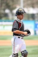 Robert Lara -  Lake Elsinore Storm playing against the Lancaster JetHawks at the Diamond, Lake Elsinore, CA - 05/16/2010.Photo by:  Bill Mitchell/Four Seam Images
