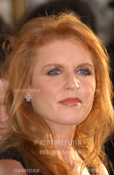 SARAH FERGUSON DUCHESS OF YORK at the 61st Annual Golden Globe Awards at the Beverly Hilton Hotel, Beverly Hills, CA..January 25, 2004