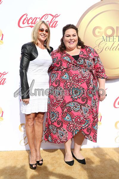 06 January 2018 - Los Angeles, California - Chrissy Metz, Nadia Comaneci. 2018 Gold Meets Golden held at The Sunset House. Photo Credit: PMA/AdMedia