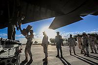 May 14 Avion Hercules Fuerza Aerea COVID