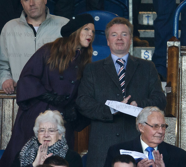 Craig Whyte and partner
