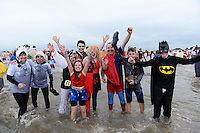 2017 01 01 New Year's Swim, Saundersfoot, Wales, UK