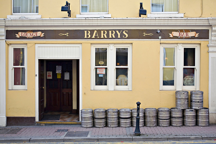 Traditional pub in Newcastle West, Ireland