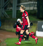 St Johnstone v Dundee&hellip;30.12.17&hellip;  McDiarmid Park&hellip;  SPFL<br />A-Jay Leith-Smith celebrates Dundee&rsquo;s second goal<br />Picture by Graeme Hart. <br />Copyright Perthshire Picture Agency<br />Tel: 01738 623350  Mobile: 07990 594431