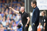 Paul Lambert, Manager of Ipswich Town shouts instructions to his charges during Ipswich Town vs Sunderland AFC, Sky Bet EFL League 1 Football at Portman Road on 10th August 2019