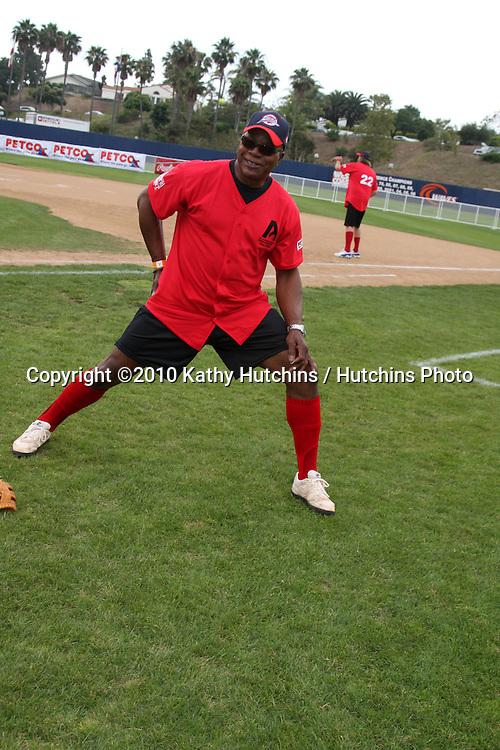 Carl Weathers.at the 2010 Steve Garvey Summer Softball Classic .Eddy D Field, Pepperdine University.Malibu, CA.July 10, 2010.©2010 Kathy Hutchins / Hutchins Photo.....