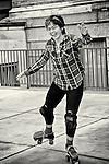 Roller skater