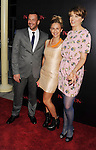 HOLLYWOOD, CA - AUGUST 28: Craig Parker, Fleur Saville, and Lucy Lawless  arrive at the 'The Possession' - Los Angeles Premiere at ArcLight Cinemas on August 28, 2012 in Hollywood, California.