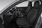 Front seat view of a 2020 Peugeot 208 Allure 5 Door Hatchback front seat car photos