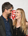 Hamish Linklater and Lily Rabe attends the World Premiere of Hamish Linklater's 'The Whirligig' at Green Fig's Social Drink and Food Club Terrace on May 21, 2017 in New York City.