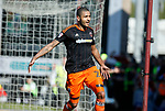 Leon Clarke of Sheffield Utd celebrates his goal during the English League One match at Sixfields Stadium Stadium, Northampton. Picture date: April 8th 2017. Pic credit should read: Simon Bellis/Sportimage