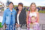Susan Brennan, Monica Bolger, Emma O'Connor and Thresa O'Connor Killorglin pictured at Glenbeigh Races at Rossbeigh Beach on Sunday.