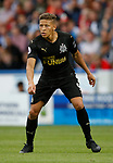 Dwight Gayle of Newcastle United during the premier league match at the John Smith's Stadium, Huddersfield. Picture date 20th August 2017. Picture credit should read: Simon Bellis/Sportimage