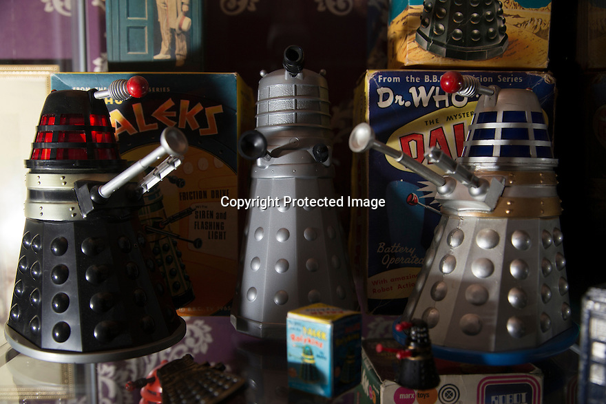 14/04/2016<br /> <br /> It is not the usual collection that springs to mind when you think about the church, but for one priest his passion for collecting vintage Dr Who is far from ordinary.<br /> <br /> Reverend Tim Baker even shares a remarkably similar name to his favourite childhood TV hero actor Tom Baker, who played the role of Dr Who from 1974 to 1981.<br /> <br /> But there is more to Tim's enthusiasm for the hit BBC series than just a coincidental sharing of surnames, for he has collected memorabilia from the show for close to 35 years.<br /> <br /> ...more<br /> <br /> <br /> <br /> All Rights Reserved: F Stop Press Ltd. +44(0)1335 418365   +44 (0)7765 242650 www.fstoppress.com