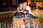 PREPARING TO DODGE-EM:  Elieen Healy Rae (Kilgarvan) and Lorraine Fleming (Killarney) are all smiles as they get ready take on her husband Michael at the dodgems game.