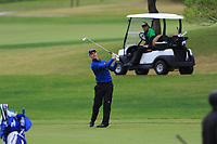 Ben Stow (ENG) on the 5th fairway during Round 4 of the Challenge Tour Grand Final 2019 at Club de Golf Alcanada, Port d'Alcúdia, Mallorca, Spain on Sunday 10th November 2019.<br /> Picture:  Thos Caffrey / Golffile<br /> <br /> All photo usage must carry mandatory copyright credit (© Golffile | Thos Caffrey)