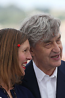 Director Wim Wenders and his wife Donata Wenders at the photocall for 'Pope Francis - A Man Of His Word' during the 71st annual Cannes Film Festival at Palais des Festivals on May 13, 2018 in Cannes, France.<br /> CAP/GOL<br /> &copy;GOL/Capital Pictures