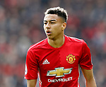 Jesse Lingard of Manchester United during the English Premier League match at Old Trafford Stadium, Manchester. Picture date: April 16th 2017. Pic credit should read: Simon Bellis/Sportimage