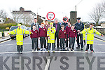 Junior School Warden Programme: Due to the retirement of a school warden at Scoil Realta na Madna, Listowel  a team of Junior school warden are in training and start on Monday next.<br /> Pictured with the new school wardens are mayor of Listowel, Cllr Jimmy Moloney, M/s Bernie Sheehy, school Principal, Charlie O' Sullivan, Town Manager, Supertindent William Leahy &amp; Sgt. Brian Fitzgerald, Listowel Gardai.