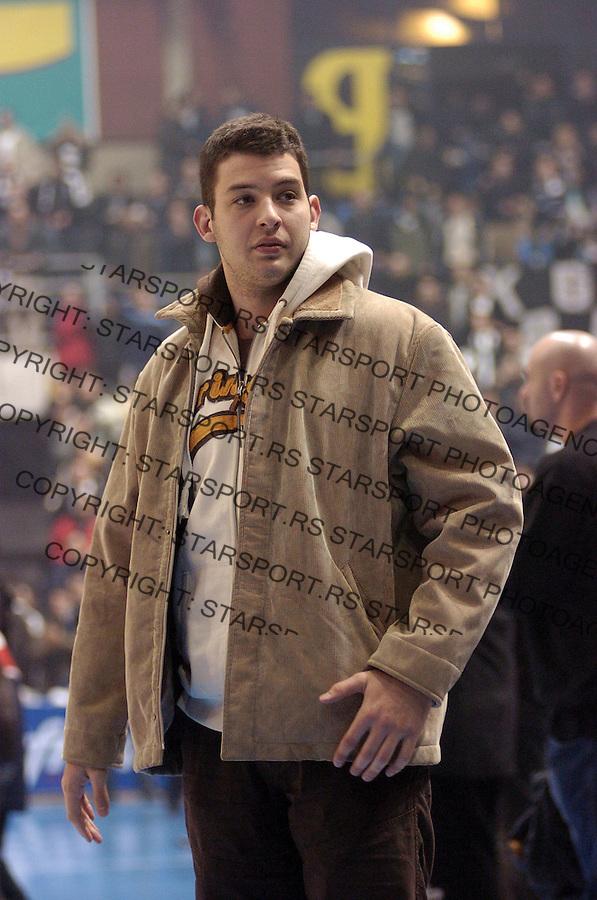 Filip Filipovic  14.12.2006. photo: Pedja Milosavljevic<br />