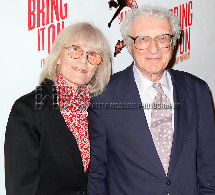 Sheldon Harnick.attending the Broadway Opening Night Performance of 'Bring it On The Musical' at the St. James Theatre in New York City on 8/1/2012 © Walter McBride / WM Photography