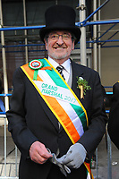 www.acepixs.com<br /> March 17, 2017  New York City<br /> <br /> Grand Marshall Michael J. Dowling at the St Patrick's Day Parade on March 17, 2017 in New York City.<br /> <br /> Credit: Kristin Callahan/ACE Pictures<br /> <br /> <br /> Tel: 646 769 0430<br /> Email: info@acepixs.com