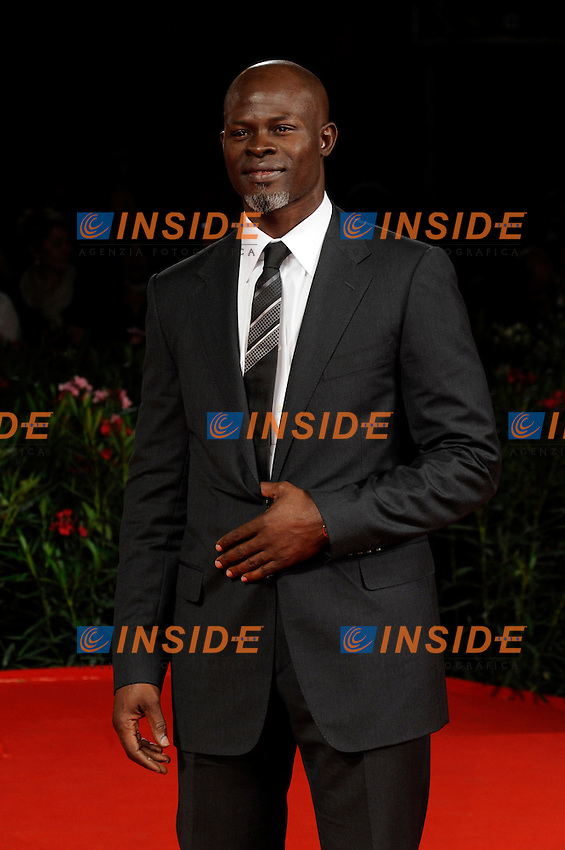 "- ""67 Mostra Internazionale D'Arte Cinematografica"". Saturday,2010 September 11, Venice ITALY....- In The Picture: The actor Djimon Hounsou on the red carpet for the film ""THE TEMPEST""......Photo STEFANO MICOZZI"