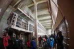 Jail cella at Alcatraz in San Francisco, California. (Photo by Brian Garfinkel)