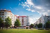 SERBIA, Belgrade, New apartment buildings in Novi Beograd or New Belgrade, Eastern Europe