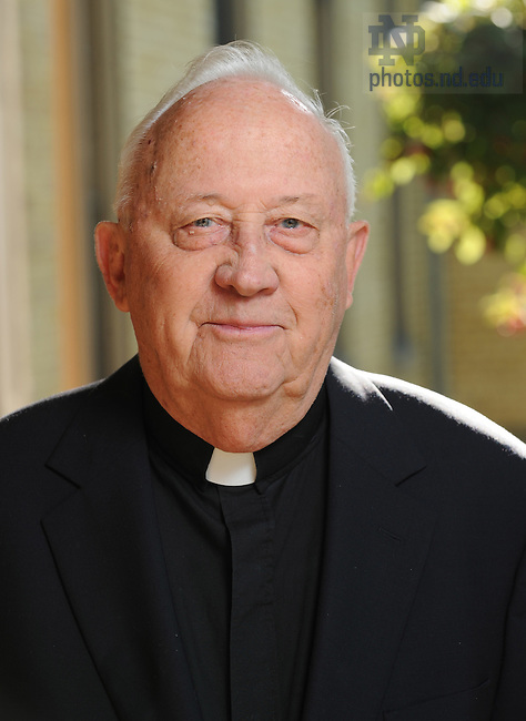 Fr. Bob Pelton, C.S.C. for Alumni Travel catalog