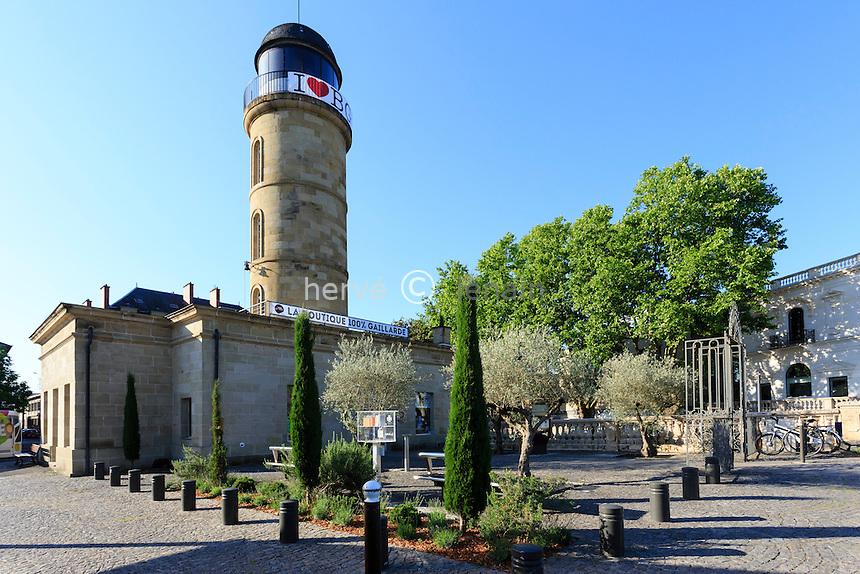 France, Corrèze (19), Brive-la-Gaillarde, l'Office du Tourisme place du 14 Juillet // France, Correze, Brive la Gaillarde, Tourist information office at 14 Juillet Square