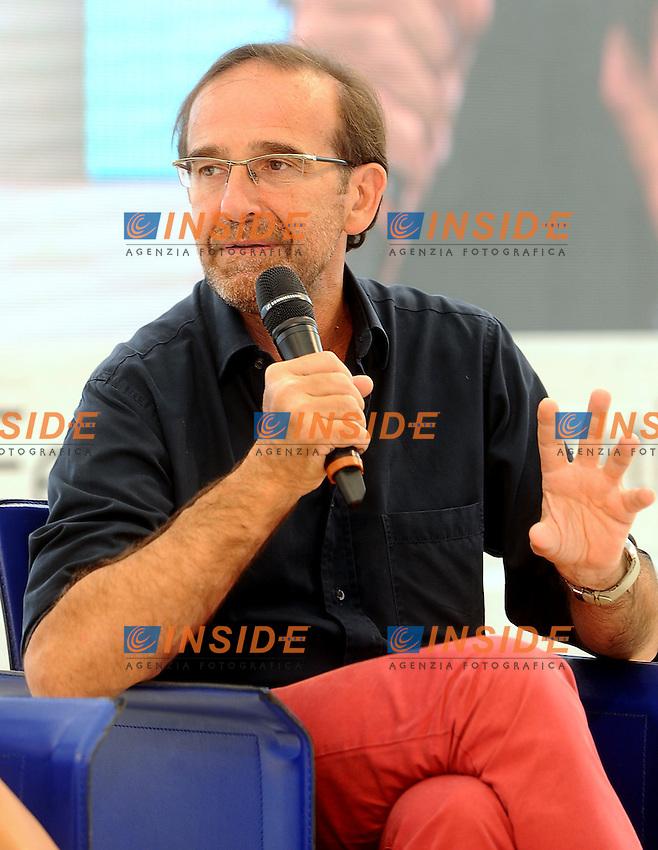 Riccardo Nencini<br /> Genova 03-09-2013 Festa Nazionale Partito Democratico<br /> Photo  Genova Foto /Insidefoto