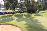 Adrien Saddier (FRA) on the 18th during the third round of the of the Barclays Kenya Open played at Muthaiga Golf Club, Nairobi,  23-26 March 2017 (Picture Credit / Phil Inglis) 25/03/2017<br /> Picture: Golffile | Phil Inglis<br /> <br /> <br /> All photo usage must carry mandatory copyright credit (© Golffile | Phil Inglis)