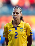 Charlotte Rohlin, Sweden-Russia, Women's EURO 2009 in Finland, 08252009, Turku, Veritas Stadium.