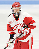 Kathryn Miller (BU - 4) - The Boston University Terriers defeated the visiting University of Connecticut Huskies 4-2 on Saturday, November 19, 2011, at Walter Brown Arena in Boston, Massachusetts.