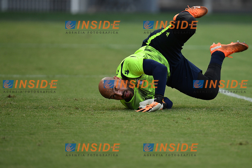 Manuel Jose Pepe Reina of SS Lazio warms up during the friendly football match between Frosinone calcio and SS Lazio at Benito Stirpe stadium in Frosinone (Italy), September 12th, 2020. SS Lazio won 1-0 over Frosinone. Photo Andrea Staccioli / Insidefoto