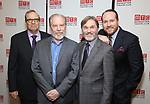 Barry Grove, Michael McKean, Richard Thomas and Darren Goldstein attending the Broadway Opening Night After Party for 'The Little Foxes' at the Copacabana on April 19, 2017 in New York City.