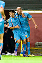 19/08/2010   Copyright  Pic : James Stewart.sct_jsp002_dundee_utd_v_aek_athens  .:: DJEBBOUR RAFIC CELEBRATES AFTER HE SCORES THE FIRST FOR AEK ATHENS :: .James Stewart Photography 19 Carronlea Drive, Falkirk. FK2 8DN      Vat Reg No. 607 6932 25.Telephone      : +44 (0)1324 570291 .Mobile              : +44 (0)7721 416997.E-mail  :  jim@jspa.co.uk.If you require further information then contact Jim Stewart on any of the numbers above.........