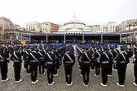 NAPOLI 28/03/2013 908 ANNIVERSARIO DELLA'ACCADEMIA AERONAUTICA .NELLA FOTO MILITARI.FOTO CIRO DE LUCA..
