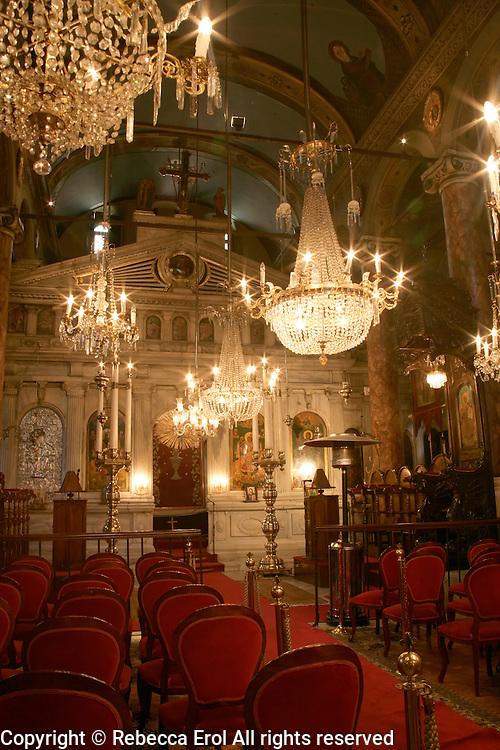 Greek Orthodox church Aya Nikolai (St Nicholas) at Cibali on the Golden Horn, Istanbul, Turkey