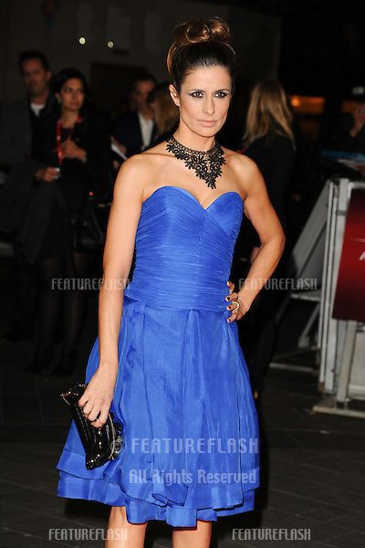 "Livia Firth at the premiere for ""Crossfire Hurricane"" being shown as part of the London Film Festival 2012, Odeon Leicester Square, London 18/10/2012 Picture by: Steve Vas / Featureflash"