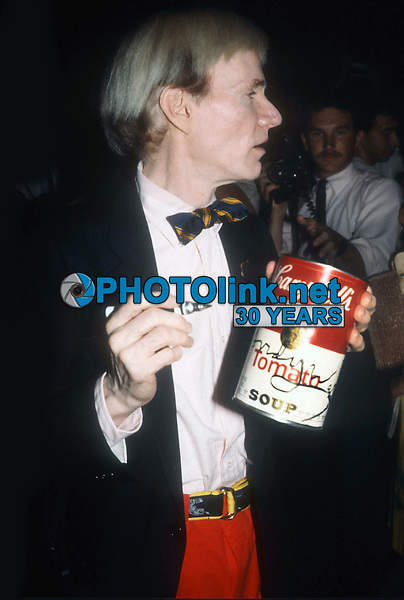 #AndyWarhol<br /> Photo By Adam Scull/PHOTOlink.net