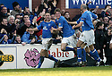 24/02/2007       Copyright Pic: James Stewart.File Name : sct_jspa10_qots_v_hibernian.JOHN O'NEILL CELEBRATES SCORING QUEEN OF THE SOUTH'S GOAL.....James Stewart Photo Agency 19 Carronlea Drive, Falkirk. FK2 8DN      Vat Reg No. 607 6932 25.Office     : +44 (0)1324 570906     .Mobile   : +44 (0)7721 416997.Fax         : +44 (0)1324 570906.E-mail  :  jim@jspa.co.uk.If you require further information then contact Jim Stewart on any of the numbers above.........