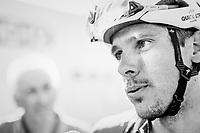 Philippe Gilbert (BEL/Quick Step floors) post-race<br /> <br /> 82nd Fl&egrave;che Wallonne 2018 (1.UWT)<br /> 1 Day Race: Seraing - Huy (198km)
