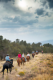 USA, Nevada, Wells, guests can participate in Horse-Back Riding Excursions during their stay at Mustang Monument, A sustainable luxury eco friendly resort and preserve for wild horses, Saving America's Mustangs Foundation