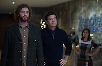 Office Christmas Party (2016)<br /> T.J. Miller &amp; Jason Bateman <br /> *Filmstill - Editorial Use Only*<br /> CAP/KFS<br /> Image supplied by Capital Pictures