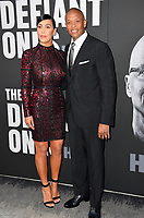 Dr. Dre &amp; Nicole Young at the premiere for the HBO documentary series &quot;The Defiant Ones&quot; at the Paramount Theatre. Los Angeles, USA 22 June  2017<br /> Picture: Paul Smith/Featureflash/SilverHub 0208 004 5359 sales@silverhubmedia.com
