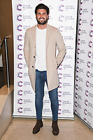 Dan Edgar arriving at James Ingham&rsquo;s Jog On to Cancer, in aid of Cancer Research UK at The Roof Gardens in Kensington, London.  <br /> 12 April  2017<br /> Picture: Steve Vas/Featureflash/SilverHub 0208 004 5359 sales@silverhubmedia.com