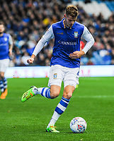 Sheffield Wednesday's defender Joost Van Aken (4) during the Sky Bet Championship match between Sheff Wednesday and Barnsley at Hillsborough, Sheffield, England on 28 October 2017. Photo by Stephen Buckley / PRiME Media Images.